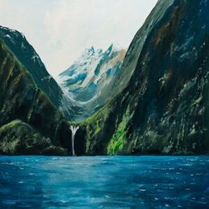 contemporary giclée art print of new zealand scene by david ringsell